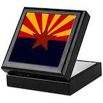 Arizona Flag Keepsake Box