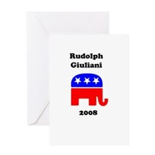 Rudolph Giuliani Greeting Card