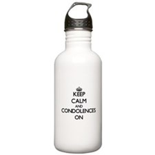 Keep Calm and Conditio Water Bottle