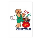 My 1st Christmas (Boy) Postcards (Package of 8)