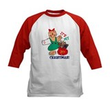 My 1st Christmas (Girl) Tee