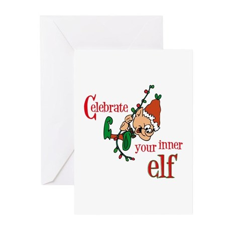 Inner Elf Greeting Cards (Pk of 10)