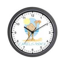 Camels Rock Wall Clock