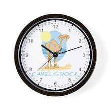 Camels Rock Wall Clock