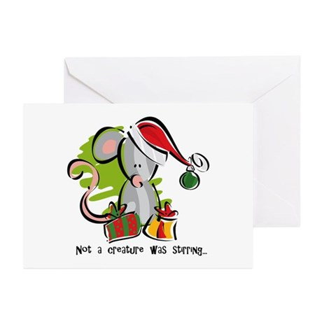 Creature Stirring Greeting Cards (Pk of 10)