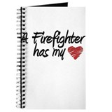 Firefighter has my heart! Journal
