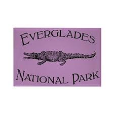 Everglades National Park (Crocodile) Rectangle Mag