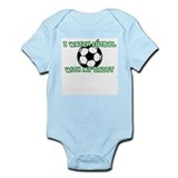 Futbol Daddy Infant Bodysuit
