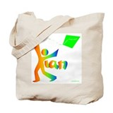 Kian Rainbow Design Tote Bag
