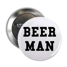 Beer Man Button