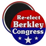 Berkley for Congress Magnet