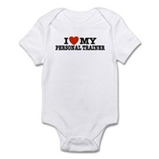 I Love My Personal Trainer Infant Bodysuit