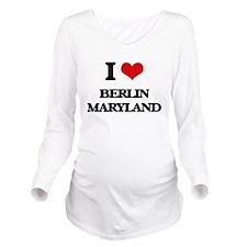 I love Berlin Maryla Long Sleeve Maternity T-Shirt