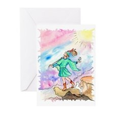 Fool Tarot Greeting Cards (Pk of 20)