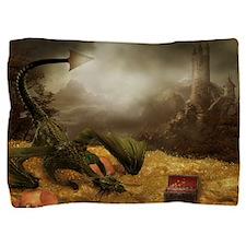 Dragon Treasure Pillow Sham