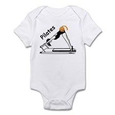 Pilates Cat Infant Bodysuit
