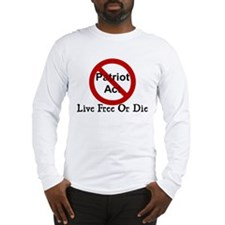 Live Free Or Die Long Sleeve T-Shirt