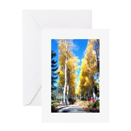 Aspen Trail Greeting Card