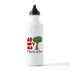 60 Isn't Old Tree Drinkware Water Bottle