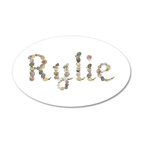 Rylie Seashells 20x12 Oval Wall Decal