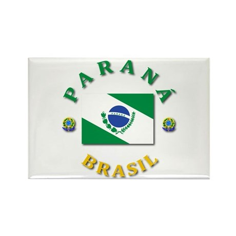 Parana Rectangle Magnet (100 pack)