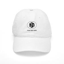 Volleyball Oval (Custom) Baseball Baseball Cap