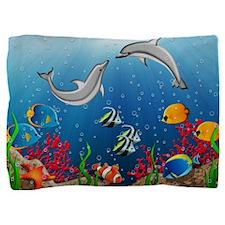 Tropical Underwater World Pillow Sham