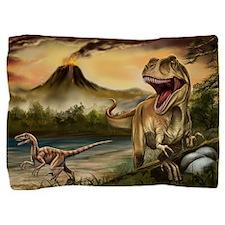 Predator Dinosaurs Pillow Sham