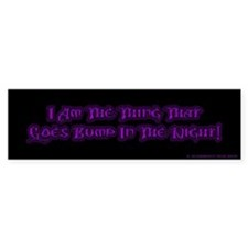 Bump in the Night (Goth-ish Bumper Sticker)