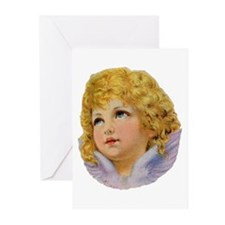 Angelic Face Greeting Cards (Pk of 10)