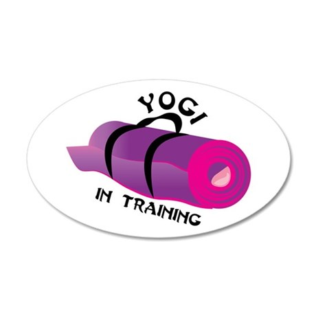 Yogi in Training Wall Decal