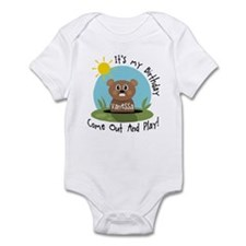 Vanessa birthday (groundhog) Onesie