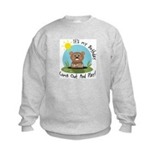 Vanessa birthday (groundhog) Sweatshirt
