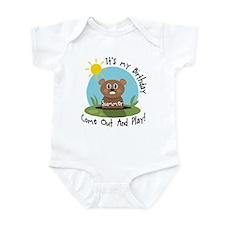Summer birthday (groundhog) Infant Bodysuit