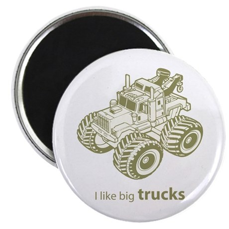 I like big trucks Magnet