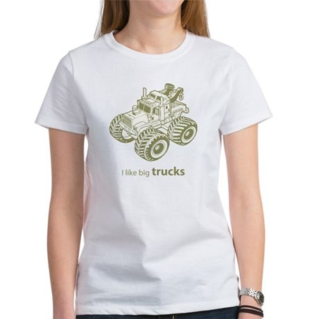 I like big trucks Women's T-Shirt