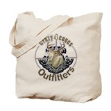 Crazy4Coues Outfitters is bas Tote Bag