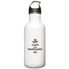 Keep Calm and Disappea Water Bottle