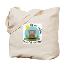 Joy birthday (groundhog) Tote Bag