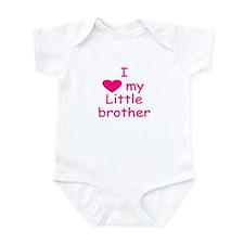 I love my little brother Infant Bodysuit