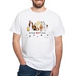 Dog Pack AKC Breeds White T-Shirt