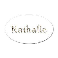 Nathalie Seashells 35x21 Oval Wall Decal