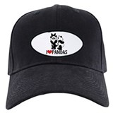 I (Heart) Pandas Baseball Hat