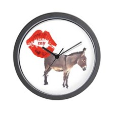 Kiss my Ass Wall Clock