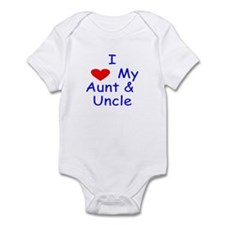 I love my aunt & uncle Infant Bodysuit