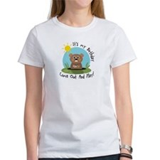 Nancy birthday (groundhog) Tee
