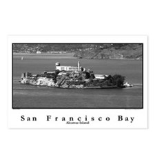 Alcatraz Island postcards pack of 8