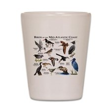 Birds of the Mid-Atlantic Coast Shot Glass