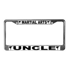 Martial Arts Uncle License Plate Frame