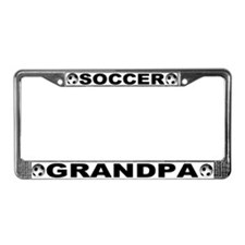 World Cup Soccer Grandpa License Plate Frame